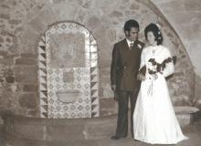 A Sant Benet vam fer les fotos del casament