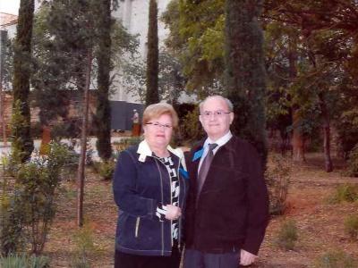 El dia que feien 61 anys de casats