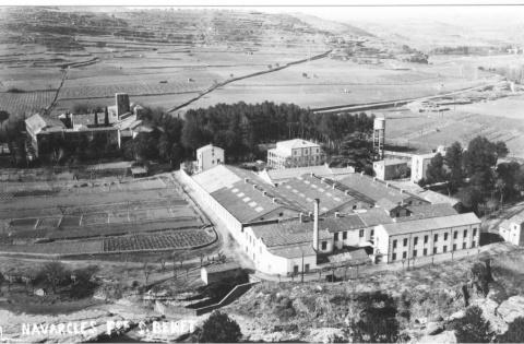 La fàbrica de Sant Benet