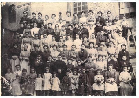 Treballadores de La Fàbrica al 1910, aproximadament