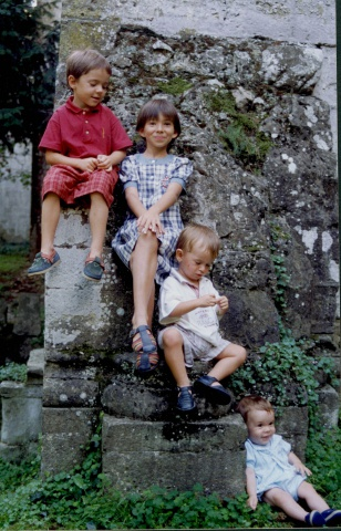Visita familiar al monestir