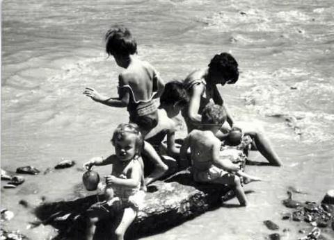 Amb els meus germans al riu