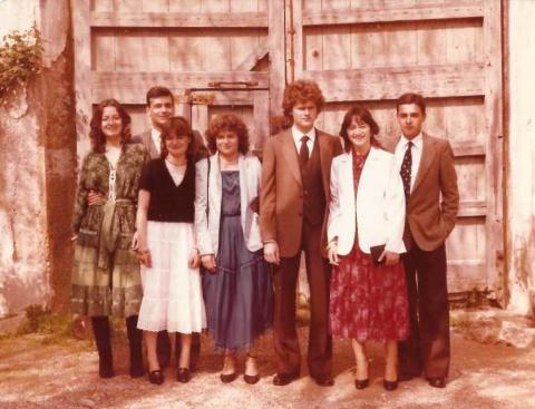 Els meus sis germans i jo.