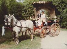El meu casament l'any 1989